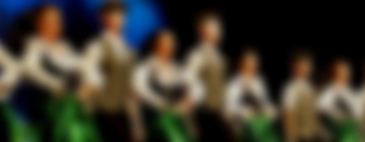 Verschwommener Hintergrund der Danceperados of Ireland
