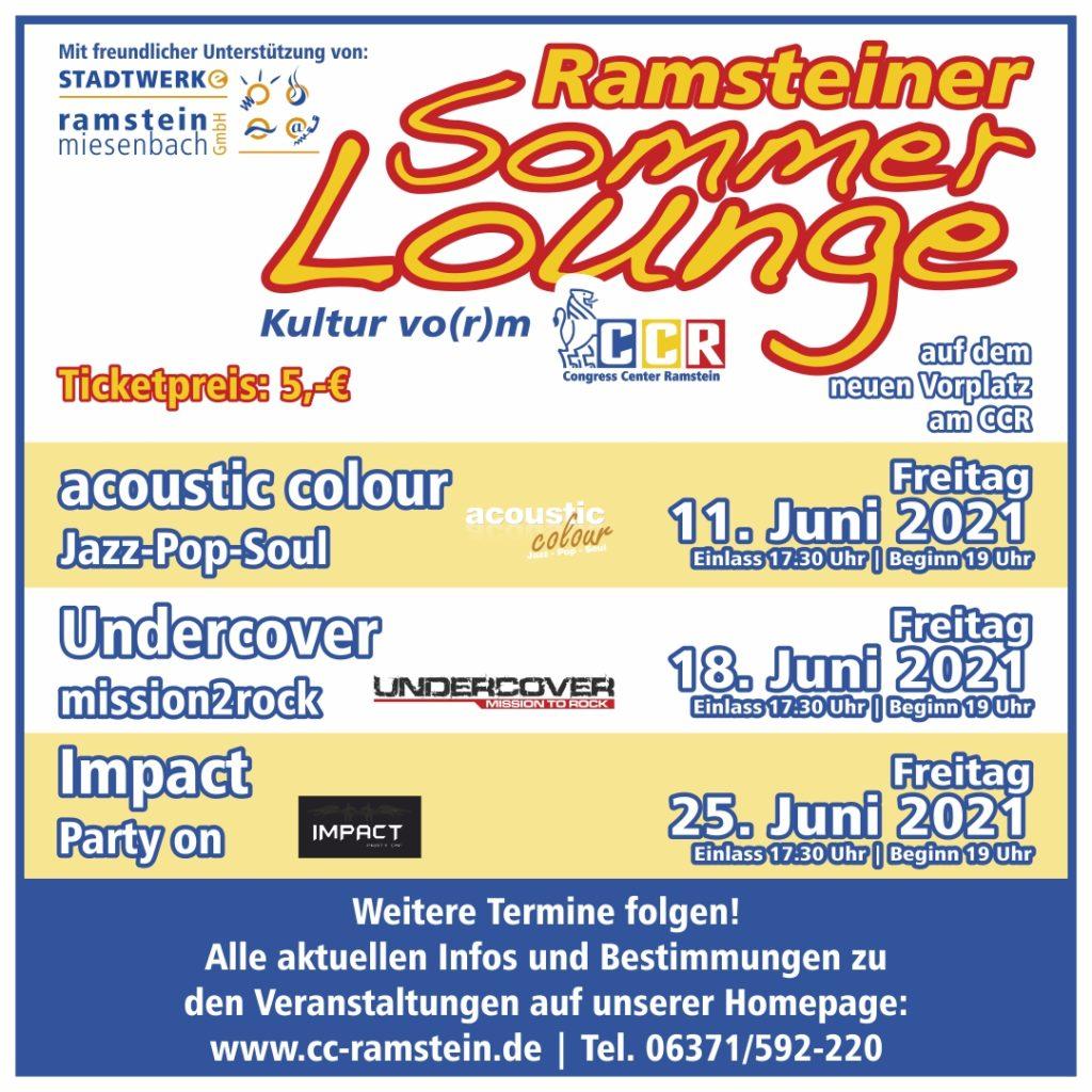 Die Sommer Lounge startet!