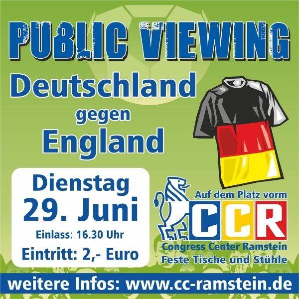 Public Viewing – Abgesagt